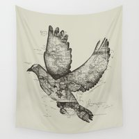 wanderlust Wall Tapestries featuring Wanderlust by Tobe Fonseca