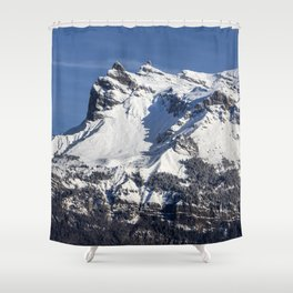 French Alps Shower Curtain