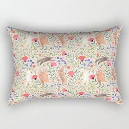 Dancing Bunnies Rectangular Pillow