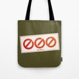 No EGOs Tote Bag