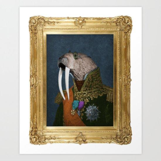 He is the Walrus (Framed) Art Print