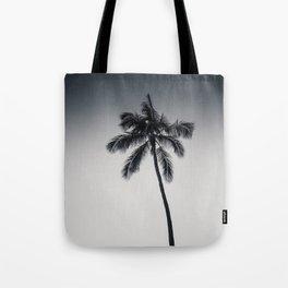 palm tree ver.black Tote Bag