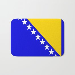 Bosnia and Herzegovina country flag Bath Mat