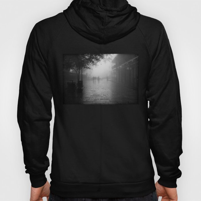 New Orleans on a foggy day Hoody