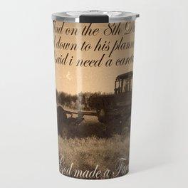 8th Day - Farmer Travel Mug