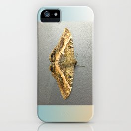 Black Witch Moth iPhone Case