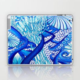 Blue Sploodge  Laptop & iPad Skin