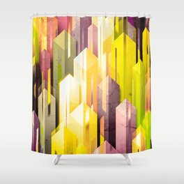 obelisk posture (variant 3) Shower Curtain