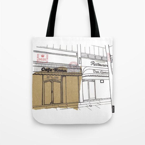 Cafe Roma. Tote Bag