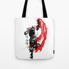 Traditional Fighter Tote Bag