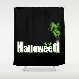 HalloWeed Shower Curtain