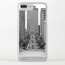 Deaderick Street, Nashville Clear iPhone Case