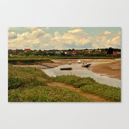 Norfolk Saltmarshes Canvas Print