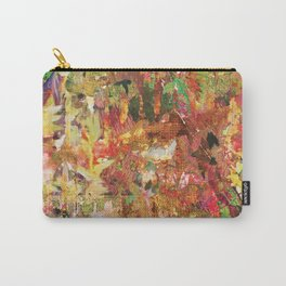Floral Frenzy Carry-All Pouch