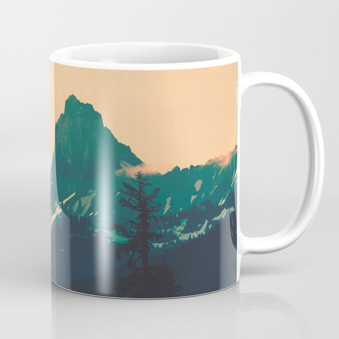 Cascade Mountains Sunset Coffee Mug