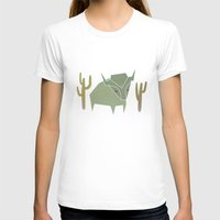 bison T-shirts featuring Bison by N1MH