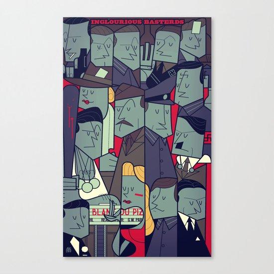 Inglourious Basterds Canvas Print