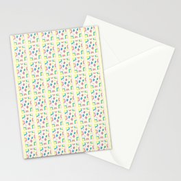 Rectangle and abstraction 4-mutlicolor,abstraction,abstract,fun,rectangle,square,rectangled,geometry Stationery Cards