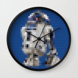 R2D2 Droid - Legobricks Wall Clock