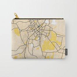 Bendigo Yellow City Map Carry-All Pouch