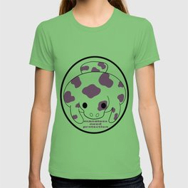 manatee with life T-shirt