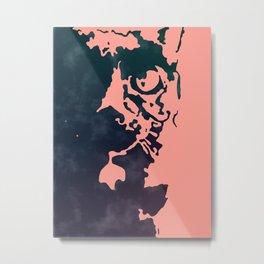 Spacey Cat Metal Print