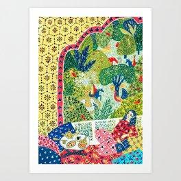 Persian Folktale Art Print