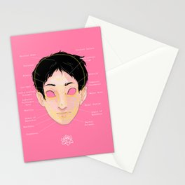 leche y miel Stationery Cards