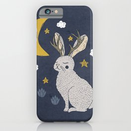 Serene Jackalope iPhone Case