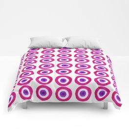 Evil Eye Amulet Talisman in Pink Comforters