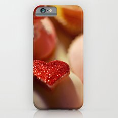 heart cupcakes iPhone 6s Slim Case