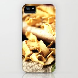 Italian Pasta Enjoyment iPhone Case