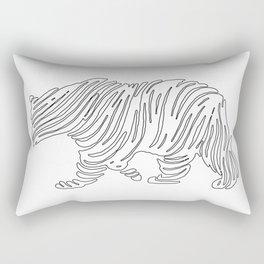 Grizzly Bear Art Rectangular Pillow
