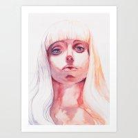 artpop Art Prints featuring ARTPOP by Maria Bruggeman