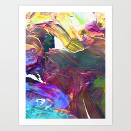 Table Top 1 Art Print