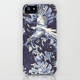 Tropical II - watercolor iPhone Case