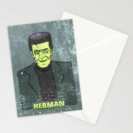 Herman Munster Stationery Cards