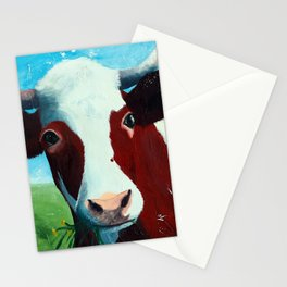 Animal - Daisy the Cow - by LiliFlore Stationery Cards