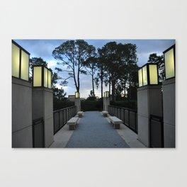 Sculpture Garden Canvas Print