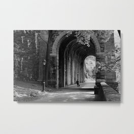 Ft. Tryon Tunnel Metal Print