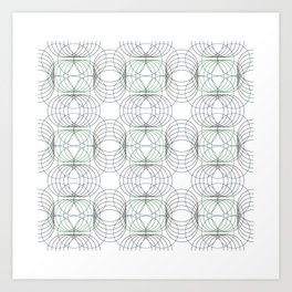 Spiral Springs Art Print