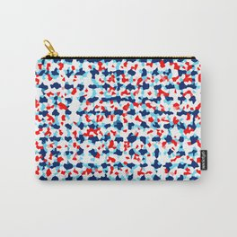 Abstract Beach Floral Carry-All Pouch