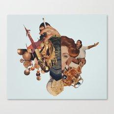 Intergalatic.... Canvas Print