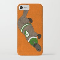 platypus iPhone & iPod Cases featuring Platypus by subpatch