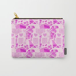 Hearts All Over Carry-All Pouch
