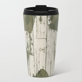 Military camouflage  with star Travel Mug
