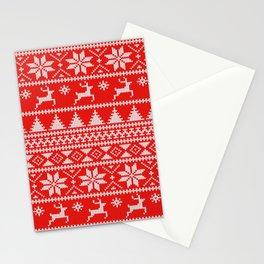 Fair Isle Christmas Stationery Cards