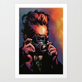 Cameraman Art Print