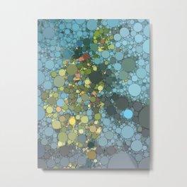 Irma artwork pool water Metal Print