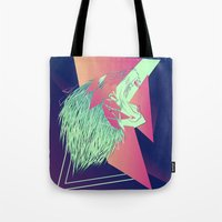 leon Tote Bags featuring LEON z7 by Edgar Gomez UniverZ7